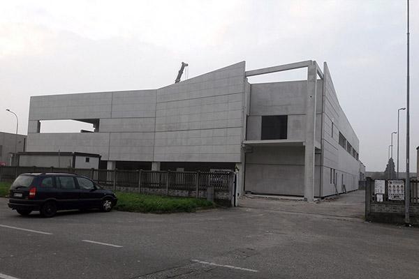 Realizzazione struttura industriale