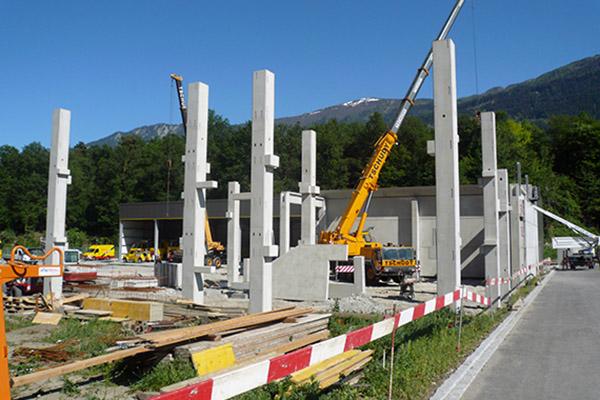 Realizzazione struttura industriale con annessi uffici