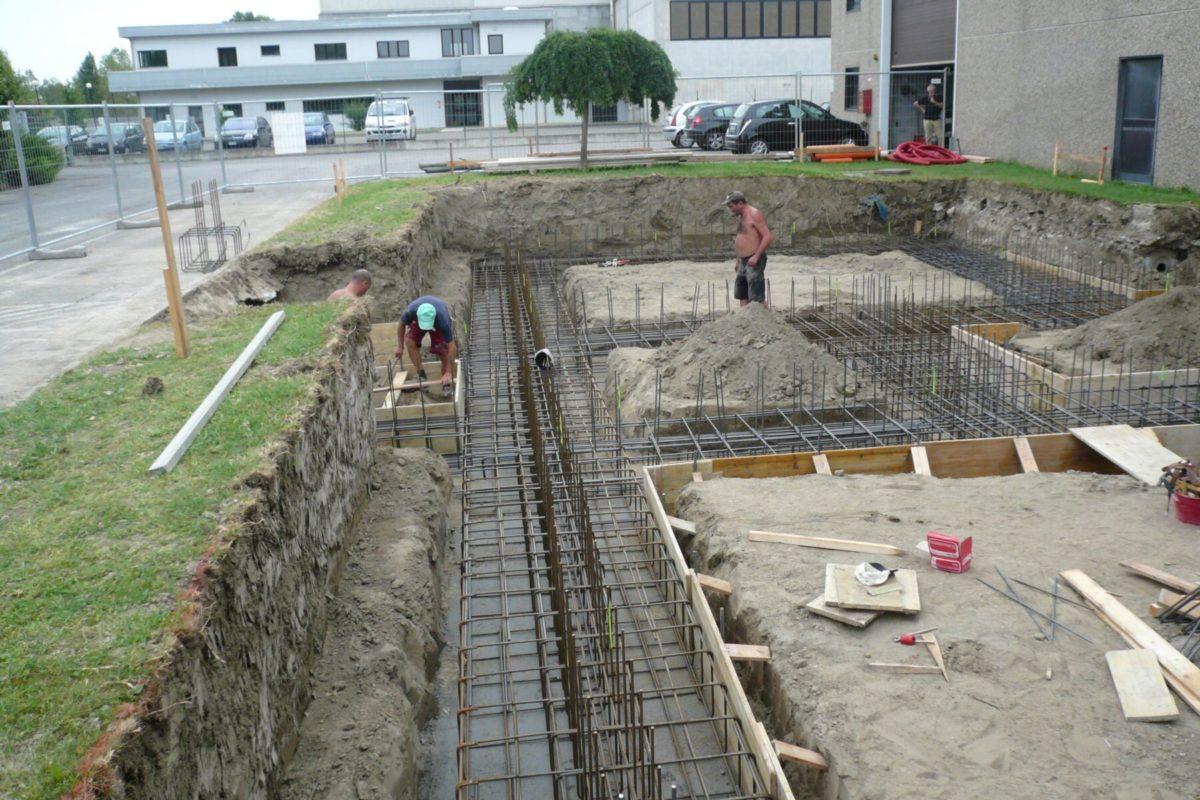 Fondazioni per nuovo edificio industriale