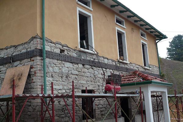 Ristrutturazione ed ampliamento abitazione civile